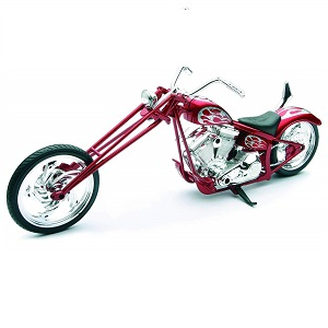 Miniatura moto Custom Chopper
