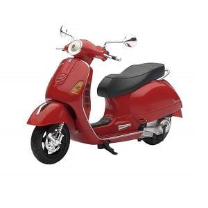 Miniatura moto Vespa roja