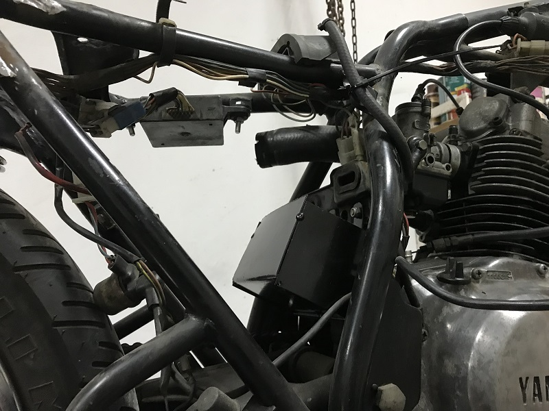 Batería Yamaha SR 125 cafe racer