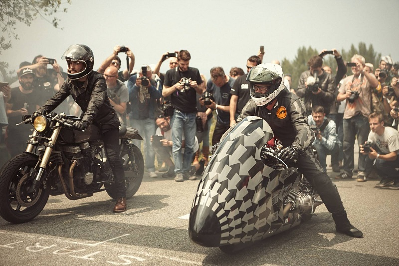 Festival cafe racer - Wheels and waves