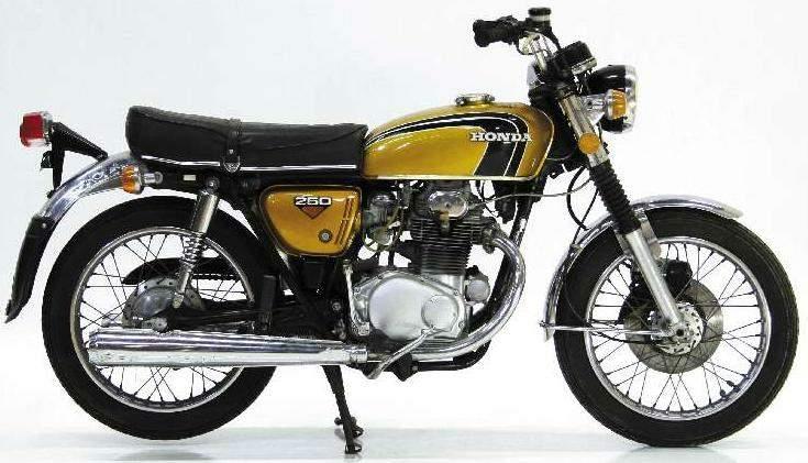 Honda CB 250 restaurar