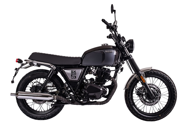 Brixton Cromwell 125. moto scrambler de 125 cc