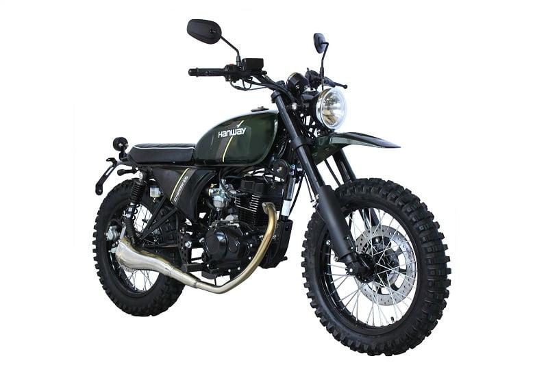 Hanway Scrambler. moto scrambler de 125 cc