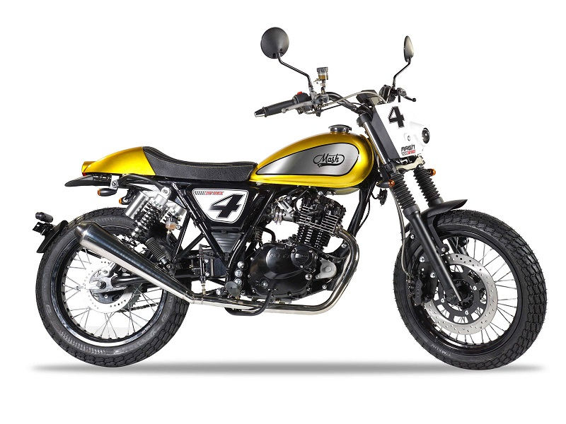 Mash DIRTTRACK125CC. moto scrambler de 125 cc