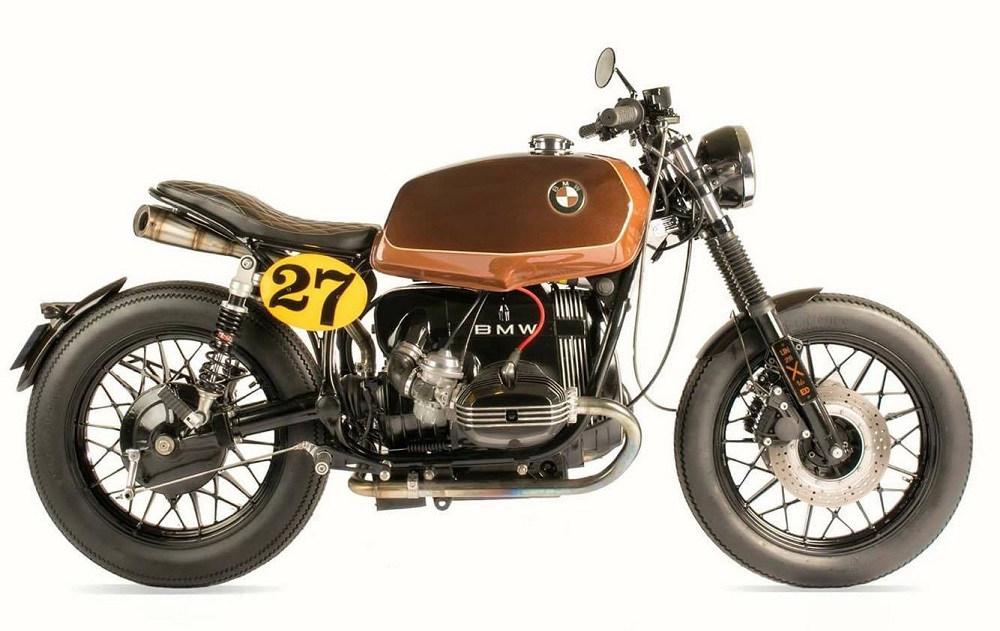 Guardabarros BMW R45 Cafe Racer