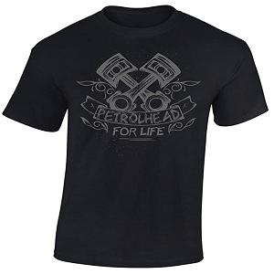 Camiseta pistones moto