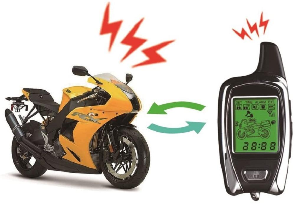 Alarma para moto con mando