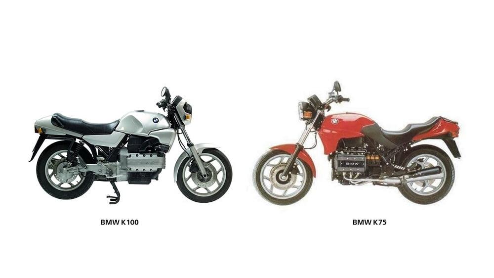 BMW K100 vs BMW K75