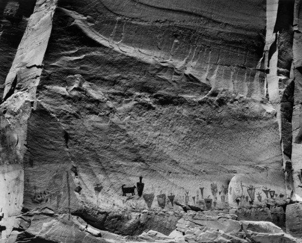 89028 Anasazi Rock Art, UT 1989