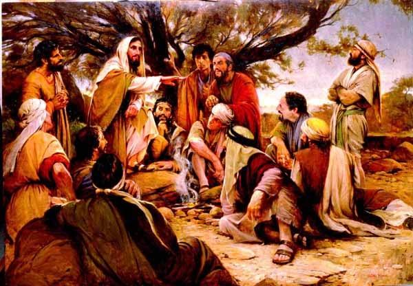Image result for Jesus at Olivet pictures