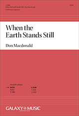 When the Earth Stands Still – DON MACDONALD