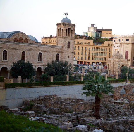 Mohammad Al-Amin Mosque St George Church Orthodox Roman Ruins Don Michael Hudson, PhD Beirut, Lebanon