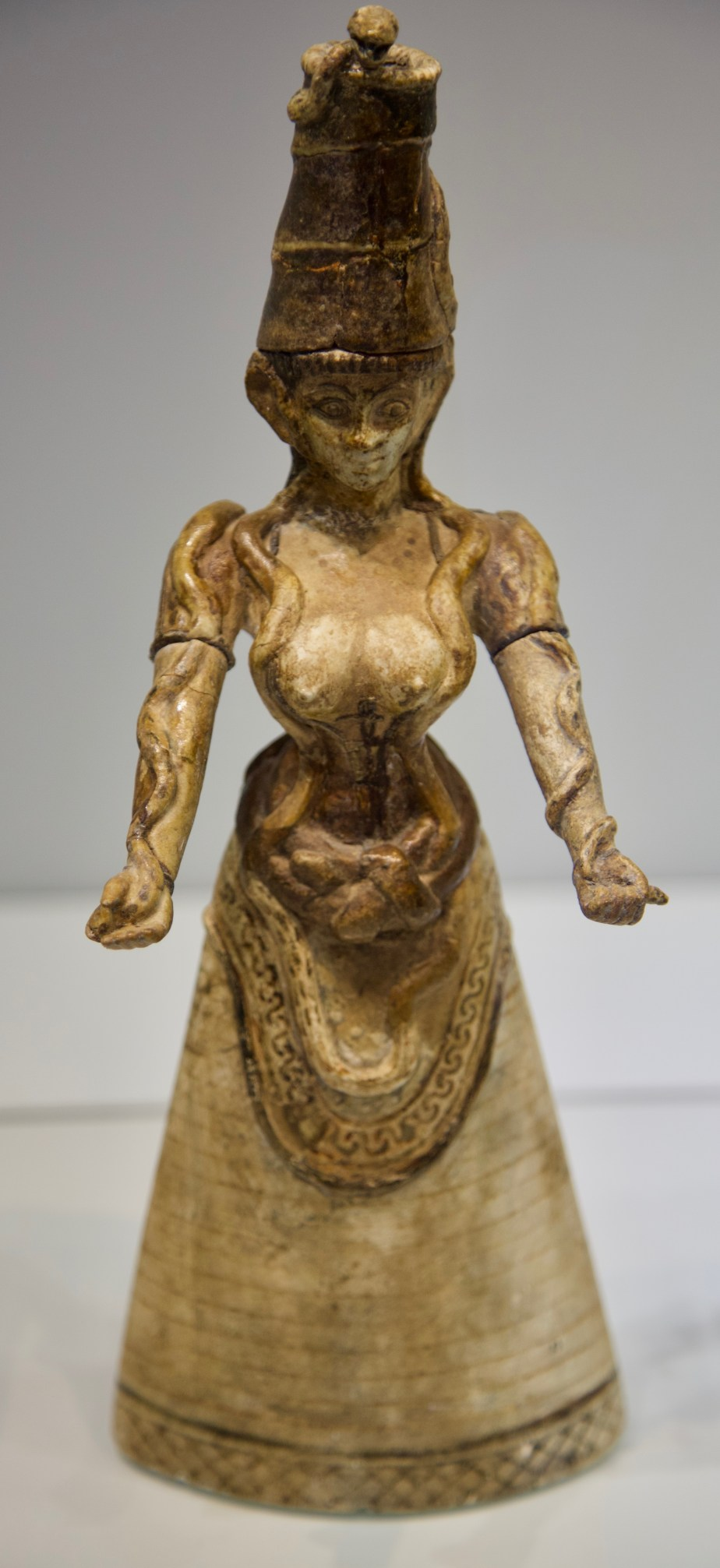 Middle Bronze Serpent Goddess