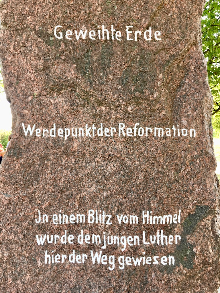 Luther Stone, Stotternheim, Germany