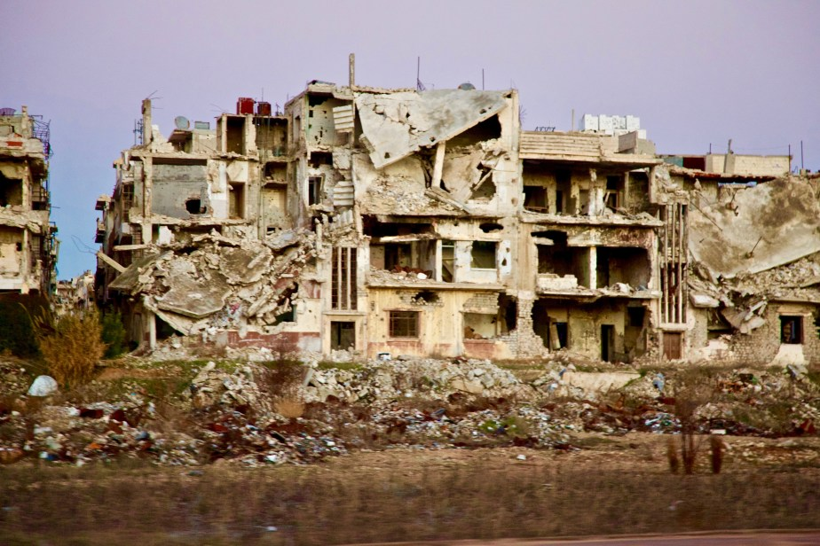 Homs, Syria Jan 2017