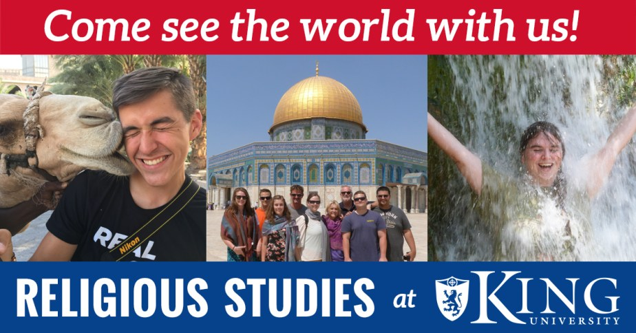 Religious Studies at King University Don Michael Hudson, PhD
