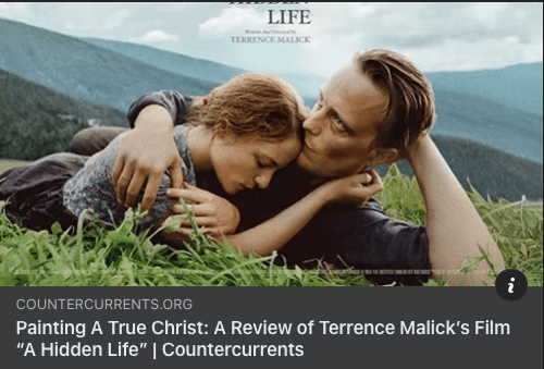 """Painting a True Christ"": Terrence Malick's ""A Hidden Life"""