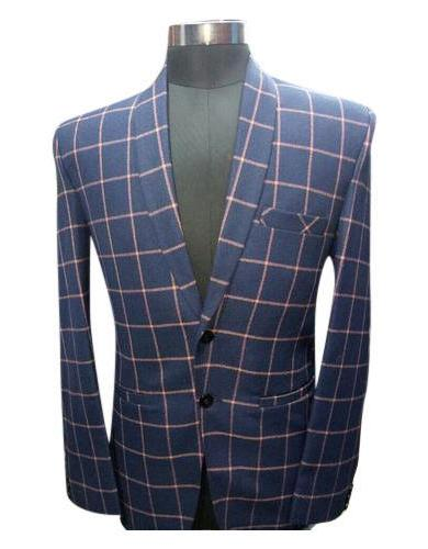Mens Checked Blazer