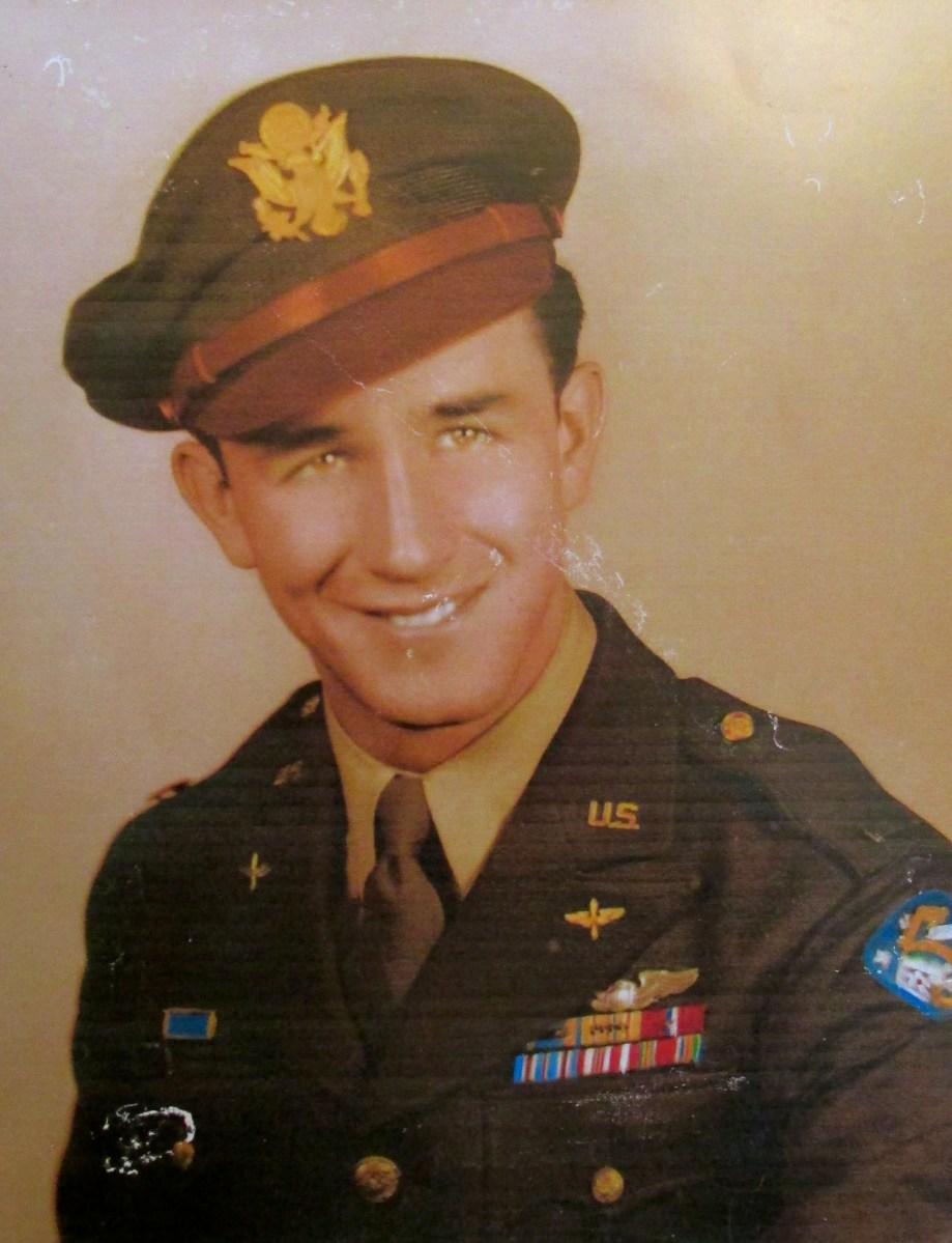 Lt Jim Horner flew B24 bomber on 46 combat missions in