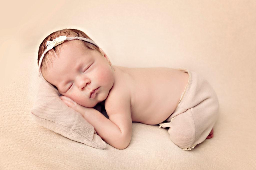 Neugeborenen Shooting Fruehling