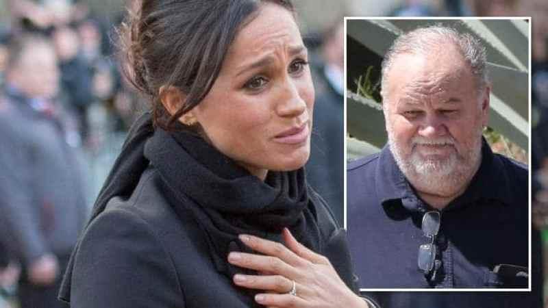 Meghan Markle's Dad Scandal/ royal wedding