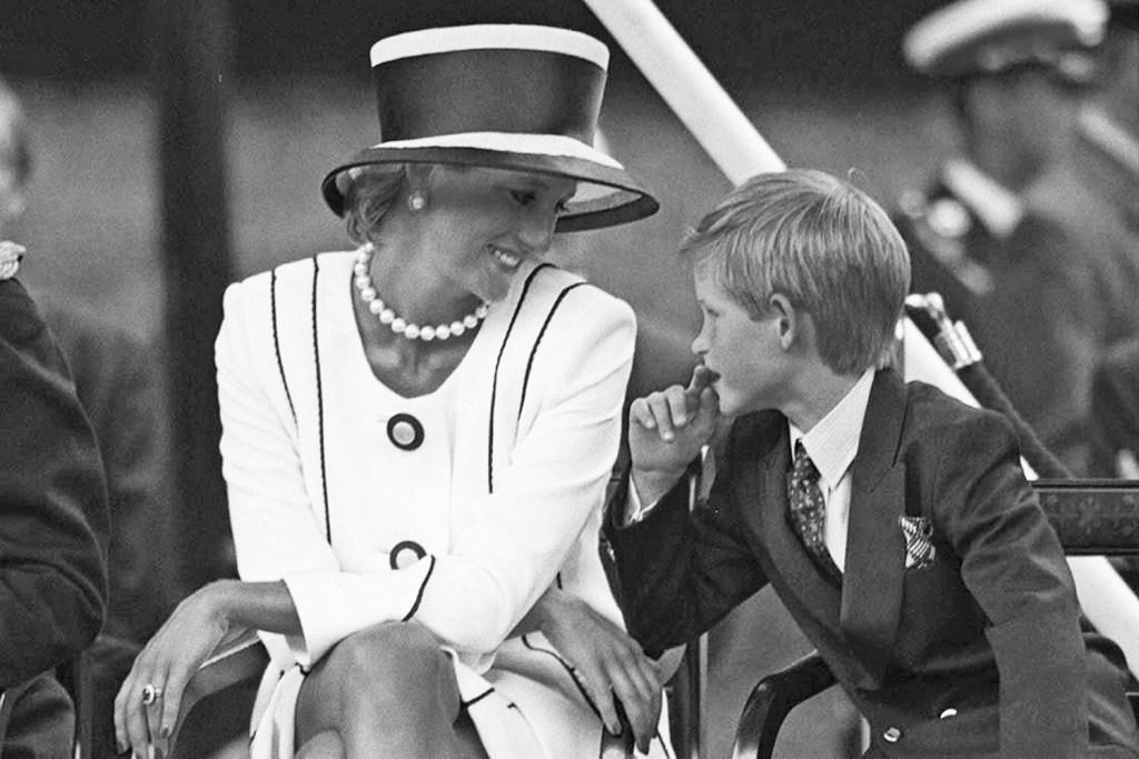 Princess Diana & Harry/ Meghan & Harry/ British press