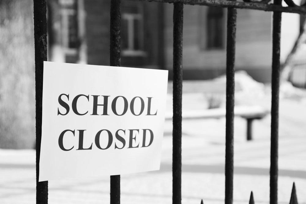 Schools closed/ school leavers
