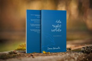 Cover image of the right words by donna ashowrth