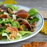 salade met gerookte eendenfilet