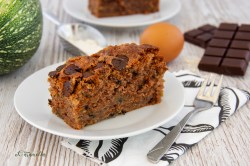 courgette-chocolade cake