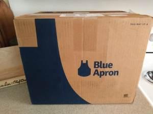 Blue Apron Unboxing meal kit