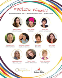 Women Of Inspiration 2016
