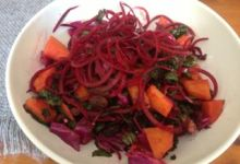 Love Your Liver Kale and Beet Salad