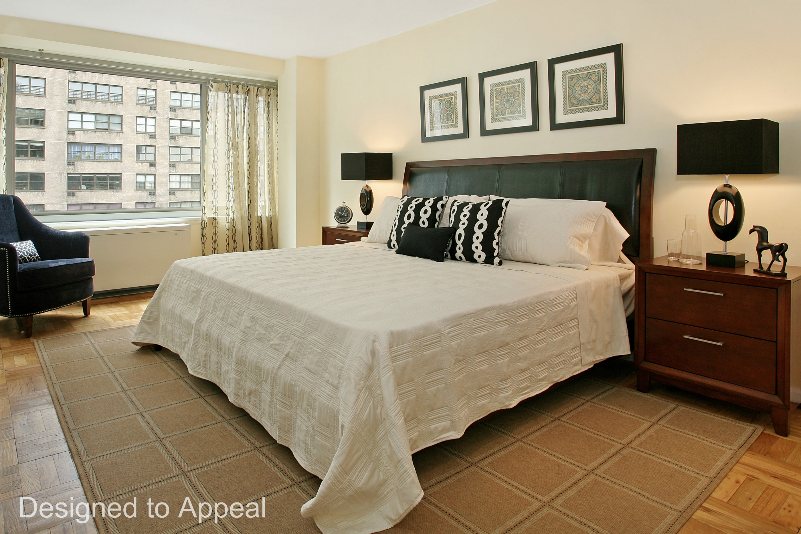 Bedroom Rug Placement
