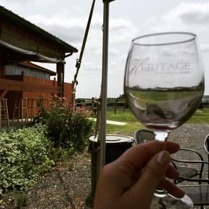 Enjoying Wine Al Fresco at Heritage Winery