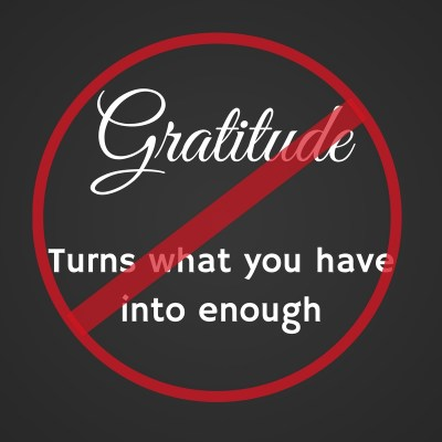 Too Much Gratitude Can Be Dangerous