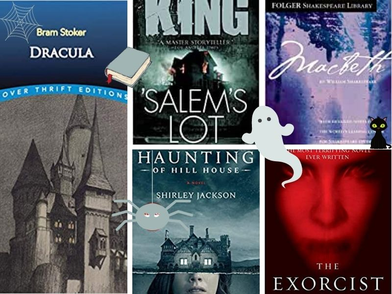 scary books to read before halloween