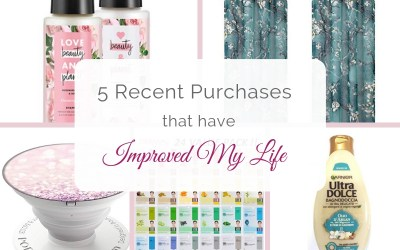 5 Recent Purchases That Have Improved My Life