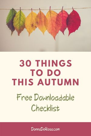 Things To Do This Autumn pin