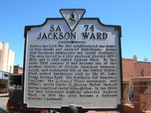 Jackson Ward Marker