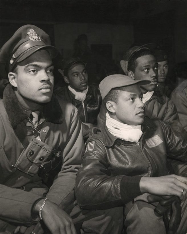 Tuskegee Airmen 332nd Fighter Group Pilots