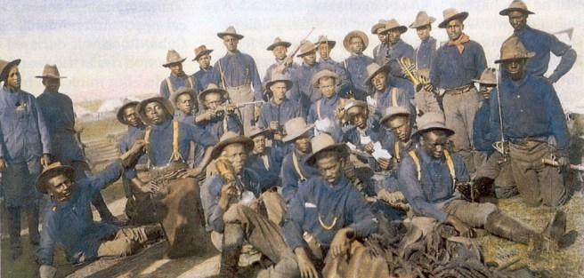 The Buffalo Soliders - 9th United States Colored Troops Calvary.