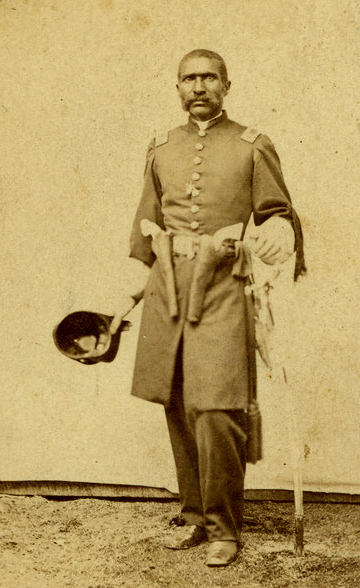 captain-william-matthews-1st-kansas-colored-volunteer-infantry-regiment-at-fort-scott