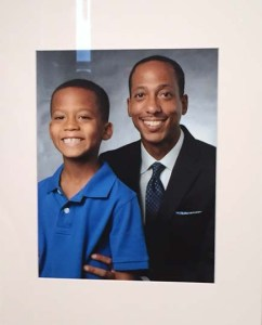 Dr. John T. Bullock and his son, Thomas Joseph.