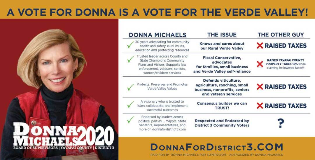 A Vote for Donna is a Vote for the Verde Valley