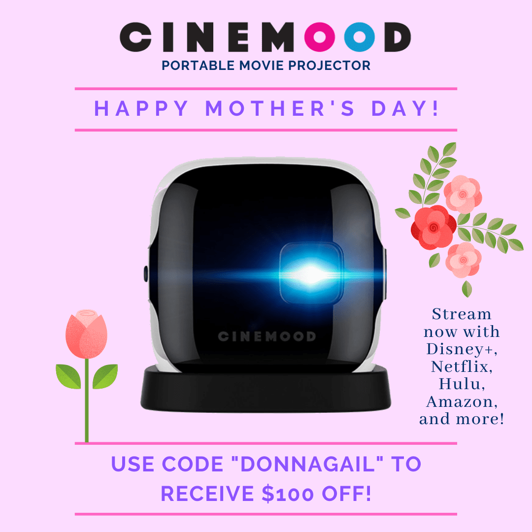 Save $100 off of any Cinemood product with the discount code DONNAGAIL