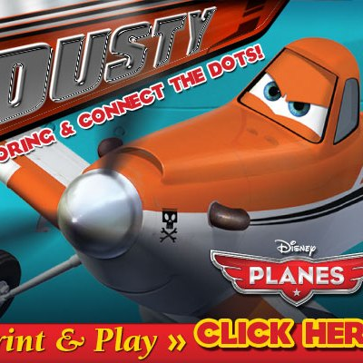 Disney's PLANES Print and Play