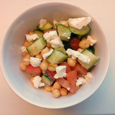 Garbanzo Bean and Tomato Salad
