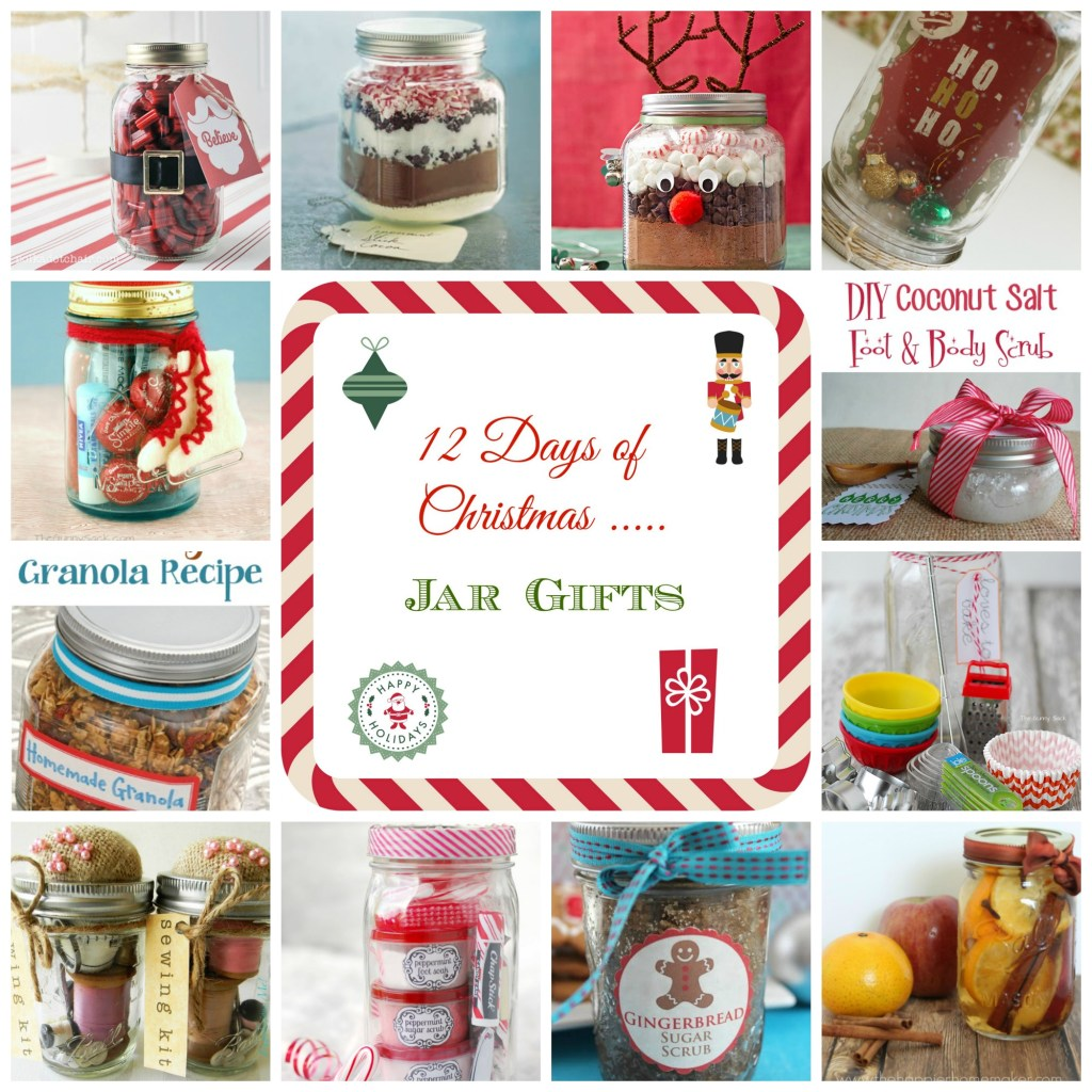 12 Days of Christmas - Jar Gifts
