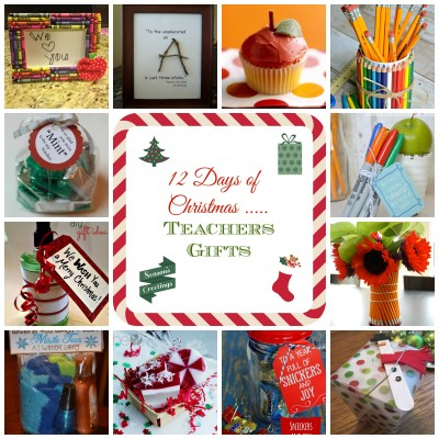 12 Days of Christmas – Teacher Gift Ideas